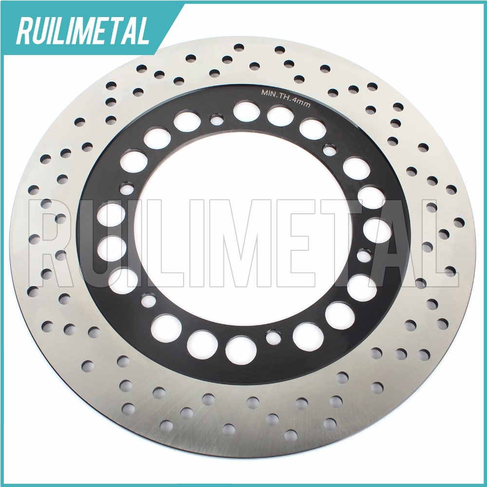 Rear Brake Disc Rotor for FJR 1300 2003-2013 A ABS 2004 2005 04 05  XV 1700 Road Star Warrior  Midnight XV 1100 Virago 1999 motorcycle part front rear brake disc rotor for yamaha yzf r6 2003 2004 2005 yzfr6 03 04 05 black color