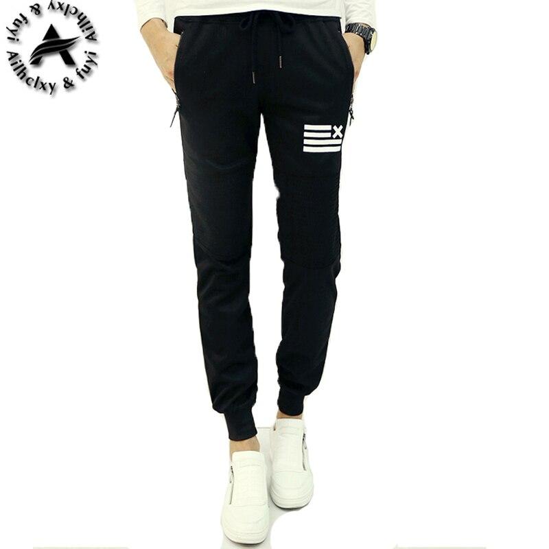 Pantalones Para Hombre pantalones de Chándal de Algodón oros Gimnasio  Flacas Joggers Sweat Pants Pantalones Chandal hombre Pantalones Casuales en  Pantalones ... 24b2df23081f