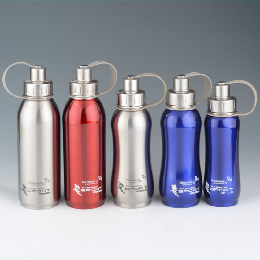 Stainless steel water bottle thermal pot bike stainless for Floor 9 water bottle