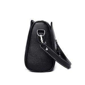 Image 3 - Luxury Handbags Women Bags Designer 2019 Ladies Bag Party Female Leather Shoulder Bag Vintage Women Messenger Bags Sac A Main