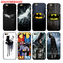 Hot Batman Phone Hard Plastic Case Cover For iphone 4 4s 5s 5 SE 6 6s 8 6/7/8 plus X