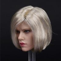 New 1/6 Scale Natasha Black Widow 6.0 Head Sculpt for 12inch Action Figure Phicen Tbleague JIAOUL Doll Toys