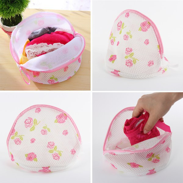 Underwear Bra Lingerie Laundry Bag Saver Mesh Zipper Wash Aid Washing Bag Hot Sale