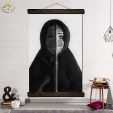 Opera Citata Shirin Neshat Modern Wall Art Print Pop Picture And Poster Frame Hanging Scroll Canvas Painting Home Decoration