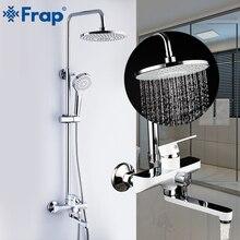 Frap Смесители для ванной и душа набор осадков Насадки для душа кран ванна носик настенный смеситель для ванны смеситель для душа grifo ducha F2441