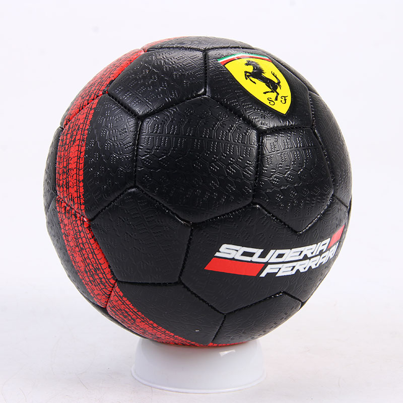 Football Training Kid PVC Ferrari Tyre Thread Outdoor Sport Practice For Children Student Soccer Ball Size 2 F655