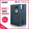 Sako 380V 45KW VFD Ad Alte Prestazioni di Energia Solare Fotovoltaica Solare Piscina Pompa Inverter di Triple (3) Fase di Uscita