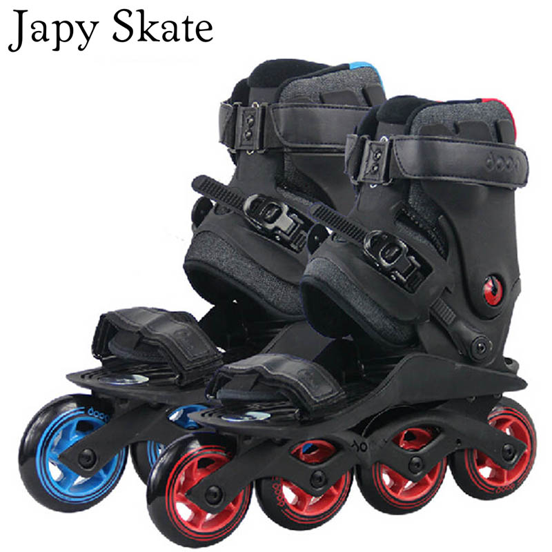 Japy Skate Leisure Roller Skating Shoes Powerslide-DOOP High Quality Leisure Skates Free Shipping Athletic Shoes Street Skates 40mm parnis sapphire glass steel watch case eta 2836 miyota 8205 8215 movement