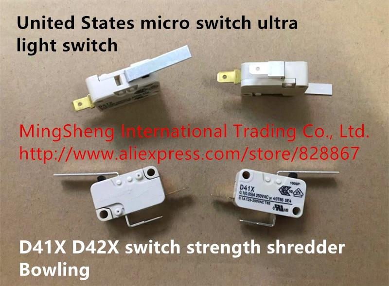 Original New 100 United States Micro Switch Ultra Light