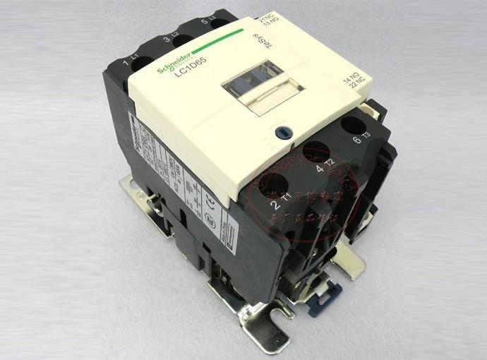 ФОТО TeSys D Contactor 3P 65A LC1D65 LC1D65U7 LC1-D65U7 240V AC 240VAC