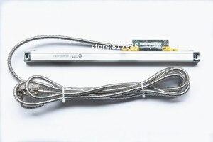 Image 5 - 2 linha central digital readout dro com escala linear do sino da elevada precisão/codificador linear magro/régua linear para a máquina do torno de trituração