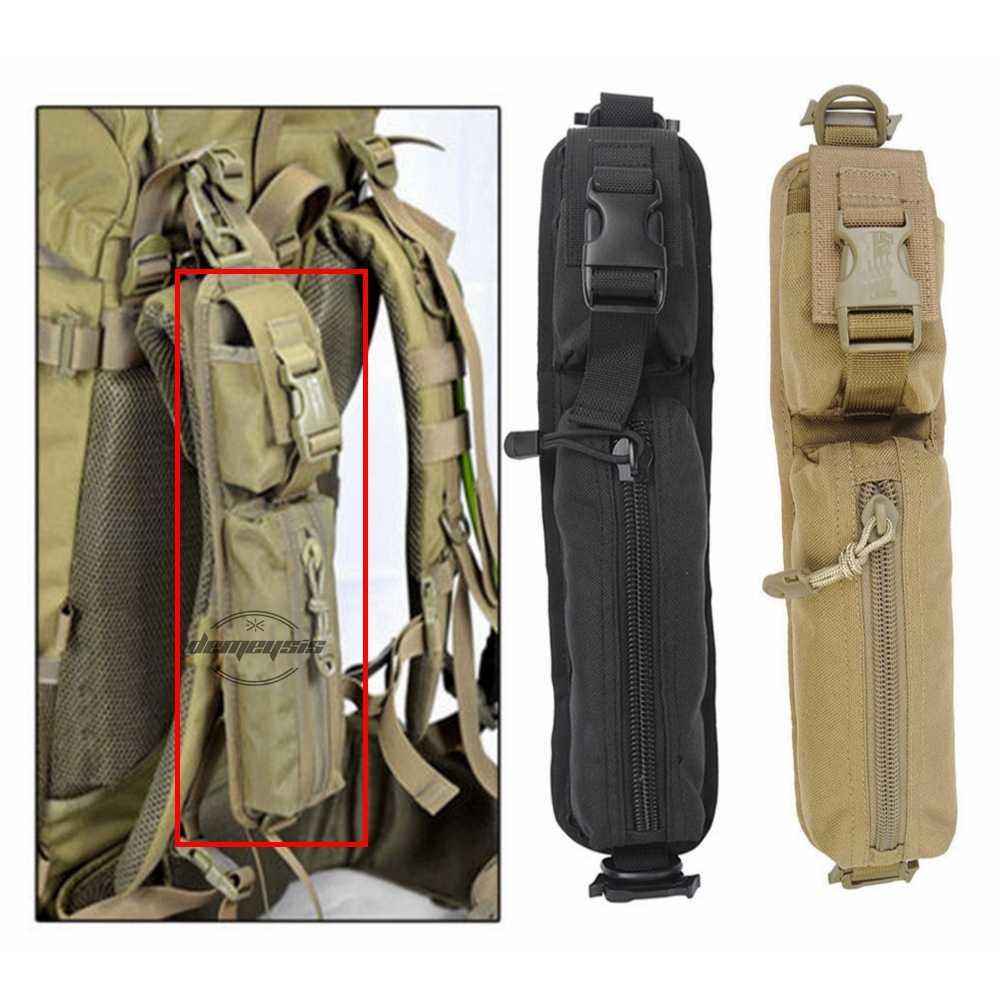 Тактический боевой рюкзак на плечо Военная Сумка Молл одна Пистолетная обойма Сумка для охоты на улице плечевой ремень мешочки