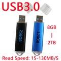 15-130 MB/S Lectura de Alta Velocidad USB 3.0 Flash Drive 128 GB 16 GB 32 GB 64 GB 1 Año de Garantía Pen Drive Pendrive 256 GB 512 GB de Memoria Stitck