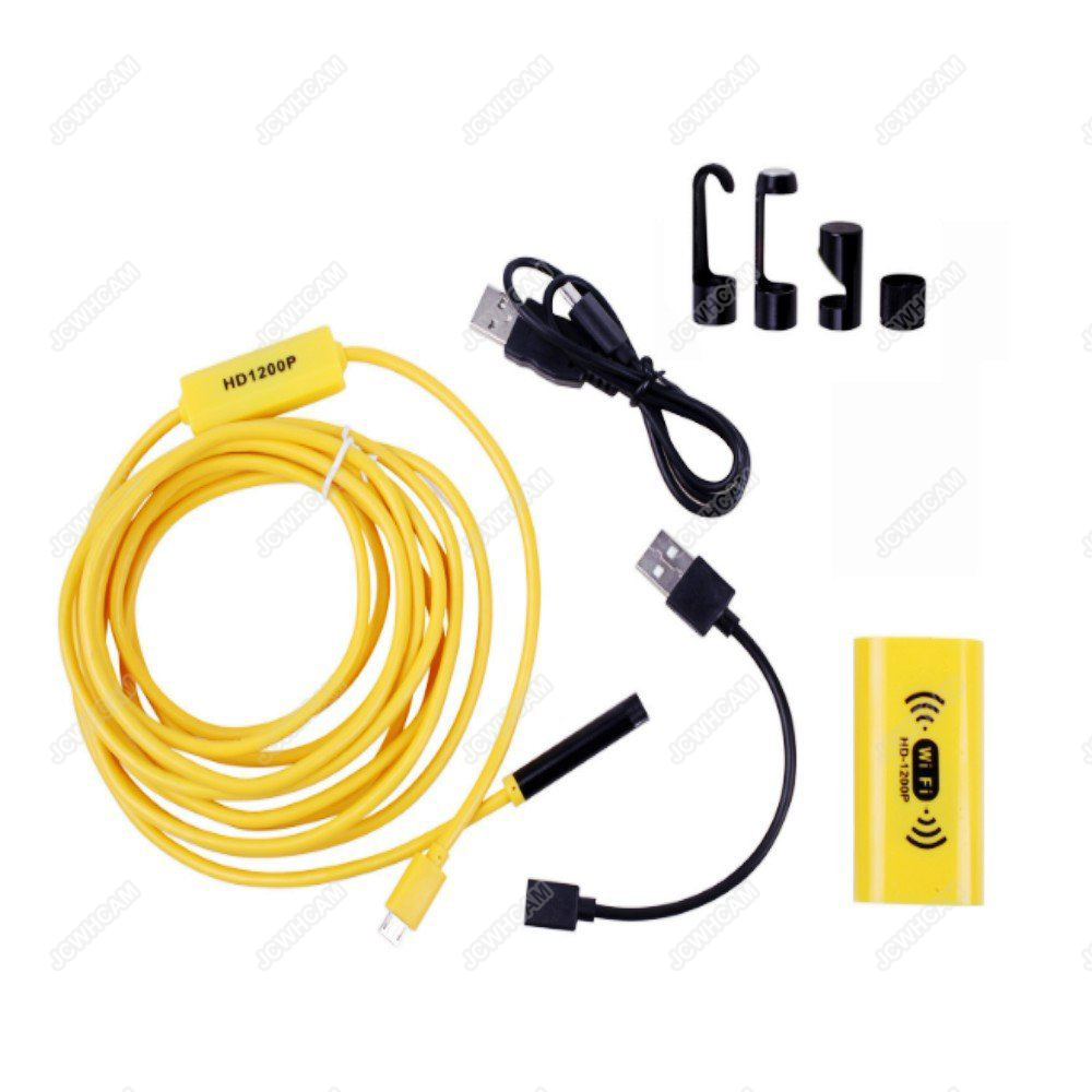 HD 1200P Waterdichte WIFI Inspectie Mini endoscoop camera Borescope - Camera en foto - Foto 4