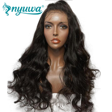 Lace Front Human Hair Wigs For Women Pre Plucked Natural Hairline Body Wave Brazilian Remy Hair