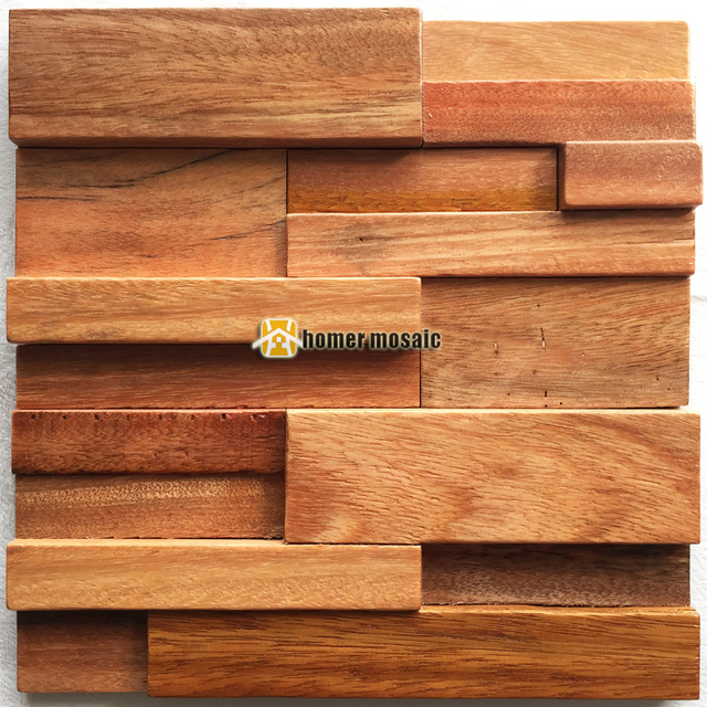 3d Naturlichen Holz Mosaik Schiff Holz Fliesen Naturlichen Holz Wand
