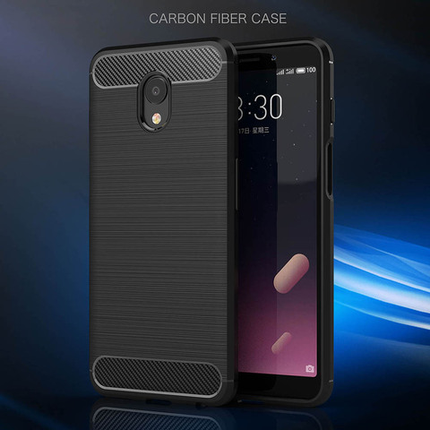 For Meizu Meilan S6 Case ZGAR Carbon Fiber M6S Mobile Covers Soft Slim Silicon Phone Bags Cases for Meizu Meilan S6 MS6 Coque Lahore