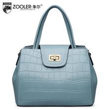 ZOOLER high quality luxury fashion brand shoulder bag handbag counter genuine leather bag, famous brand women