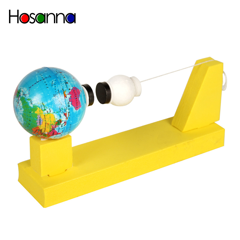 STEM Science Kids Toys DIY Planets Model Kit Earth Moon Gravitational Experiment Discovery Amazing Educational Toys For Children