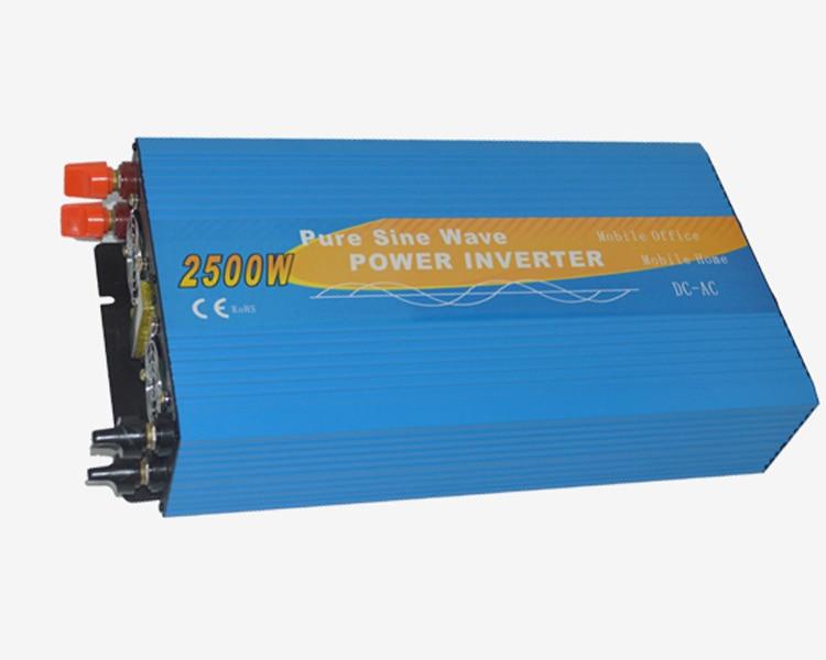 12V/24V/48V 2500W Single Phase Pure Sine Wave Power Inverter Off Grid Solar Inverter DS 2500P