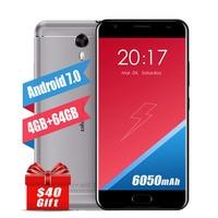 Original Ulefone Power 2 5 5 4G Mobile Phones Android 7 0 64GB ROM 4GB RAM