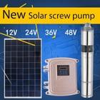 solar submersible well pump 77m 1200L/h solar powered water pump for well mini solar submersible pump kit for garden