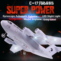 Newest Beginner Remote Control RC Glider 2.4G Fixed Wing EPP Material Transport Machine With Gyroscope Kids Sky RC Electric Toy