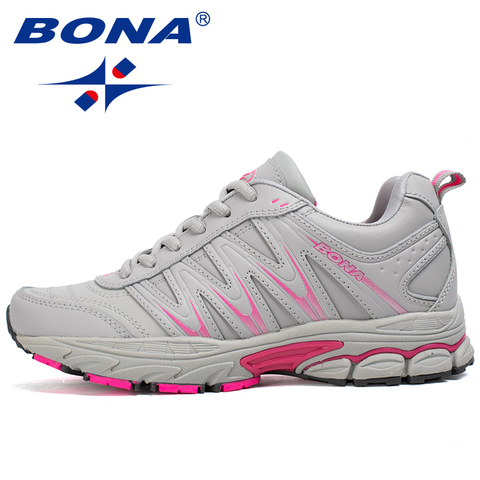 BONA New Hot Style Women Running Shoes Lace Up Sport Shoes Outdoor Jogging Walking Athletic Shoes Comfortable Sneakers For Women Islamabad