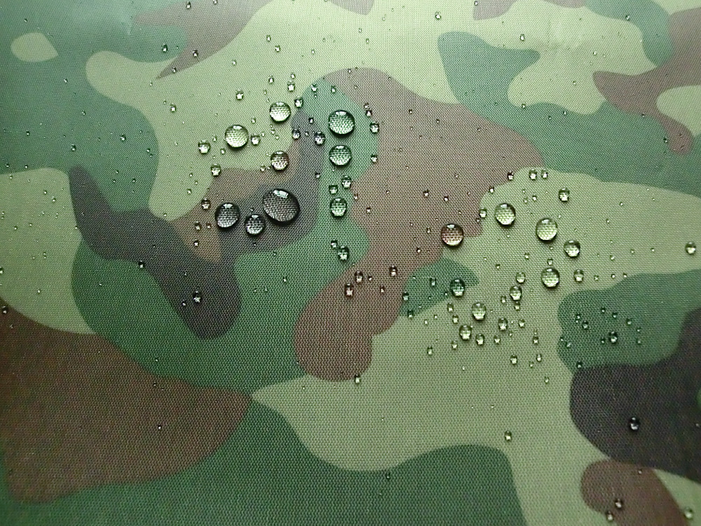 Wide 150cm Oxford Cloth Camouflage Printed Silver