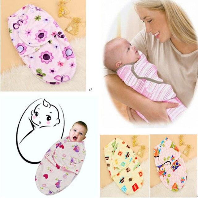 40f6b368c10a High Quality Newborn Wrap Soft Envelope Shape Blanket Swaddling ...