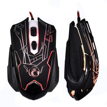 USB Wired Optical Computer Mouse 6 Buttons E-Sports Gaming Mouse Professional Mouse Gamer High Quality Raton Ordenador