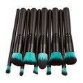 10 pçs/set Alta Qualidade Pincéis de Maquiagem Beleza Cosméticos Fundação Mistura de Blush Make up Brush tool Kit Conjunto de Cosméticos