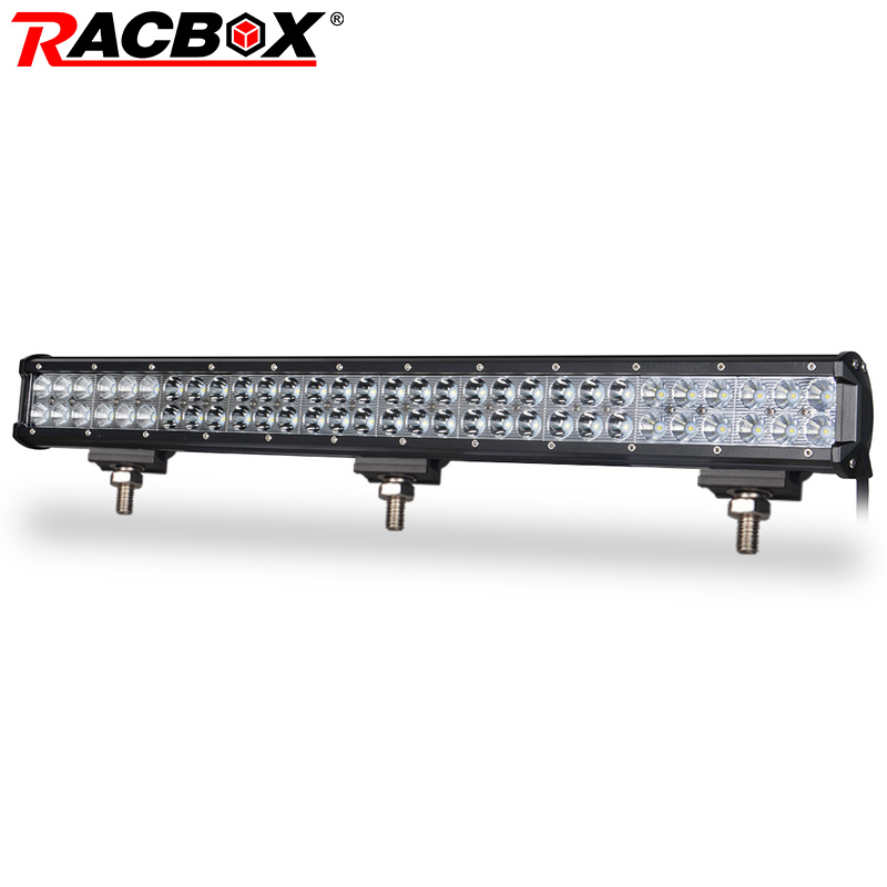 28 inch 180W Offroad LED Work Light Bar With 3030 LED Chip Work Lamp Combo Beam 12V 24V IP67 for Jeep ATV UAZ Tractor Truck Boat truck led ramp 36w led light bar with ip67 waterproof rate