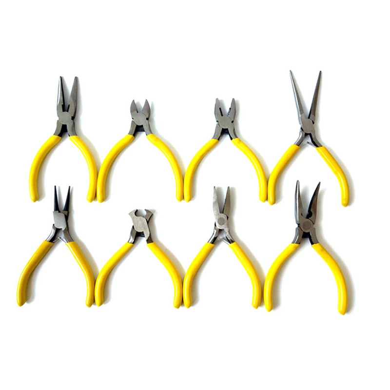 Wholesale Needle-Nosed Pliers 5-Inch Mini DIY Accessories Jewelry Beaded Small Manual Pliers Handmade Tool