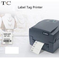 Aangepaste Adhersive Warmtegevoelige Printer Label Sieraden Store Afdrukken Label Barcode Bedrijf Afdrukken Prijskaartje Printer + Lint