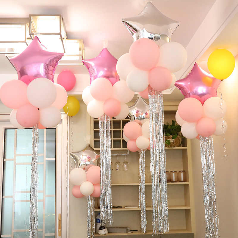 12pcs/pack 18 inch Foil Star for Kids Party Toy Balloon Hat Festival Event Decoration Hat Balloon Novelty Children's Toys