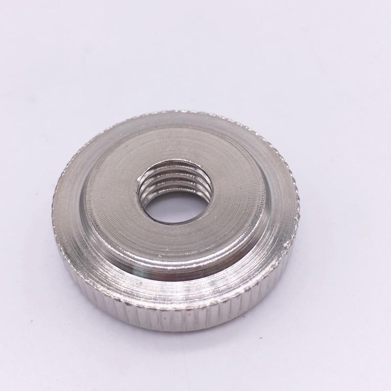 M3 M4 M5 M6 M8 M10 Thumb Nuts Thin Knurled Steel Metric Fastener Zinc Plated / Nickel Plating 50 pieces metric m4 zinc plated steel countersunk washers 4 x 2 x13 8mm