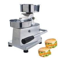 130mm Stainless Steel Manual Hamburger Machine Burger Press Patty Maker Hamburger Mold HF 130|3 in 1 Breakfast Makers|Home Appliances -