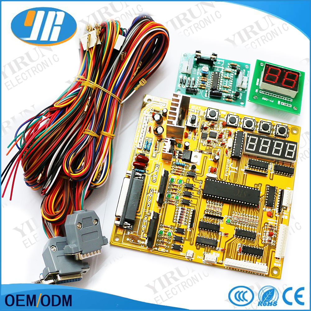 Cheap Price Claw Crane Machine Pcb English Set Voice Arcade Motherboard Wiring Slot Game Board With Displays Wire Harness In Coin Operated Games From Sports
