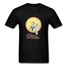 Custom Prints Science King Tee Shirt  Men Short Sleeve Crewneck Cotton Plus Size T Shirts