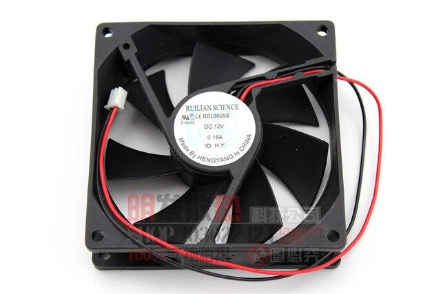Us 733 Gratis Levering Originele 9025 Dc12v 016a Rdl9025s Ultrastille Kast Power Koelkast Ventilator In Gratis Levering Originele 9025 Dc12v