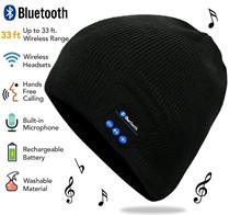 Bluetooth Hat Beanie Wireless Headset Music with Built-in Stereo Speaker Outdoor Sports Skiing Running Skating Walking Christmas unisex bluetooth beanie music hat christmas winter soft warm wireless speaker hat