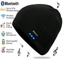 Chapéu Gorro Sem Fio Bluetooth Música Fone De Ouvido com Falante Estéreo Embutido Esqui Esportes Ao Ar Livre Correndo Skating Andando Natal