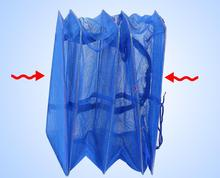 4 Layers Drying Net Cast Net Drying Rack Folding Hanging Vegetable Fish Dishes Dryer Net PE Hanger Fishing Net