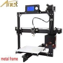 Anet A2 3d-принтер металла фюзеляж рамка Точность 3D Принтер Комплект DIY Легко Соберите + 12864 ЖК-Дисплей + Очаг + SD card + Инструменты