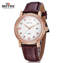 Brand MSTRE Luxury Men Business Watch Auto Self wind Diamond Snake Leather Strap Male Wristwatch Flywheel