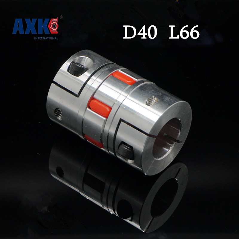 3pcs motor Flexible Jaw Spider Shaft Coupling Plum Coupler D40 L66 8 10 12 12.7 14mm 15mm 16mm 17mm 18mm 19mm 20mm 22mm 15.875mm cnc plum shaft flexible jaw spider coupler 12mm 14mm motor coupling 12mm to 14mm dia 30mm length 35mm