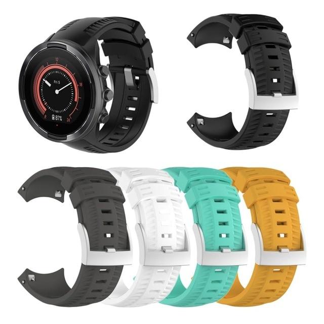 ONLENY Soft Silicone Wristband Wrist Strap Adjustable Fitness Bracelet 9 Smart Watch
