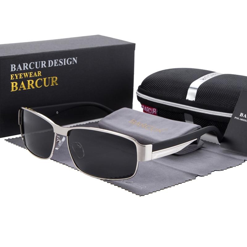 Syzet e diellit BARCUR për drejtimin e syzeve për burra Dielli për - Aksesorë veshjesh - Foto 6
