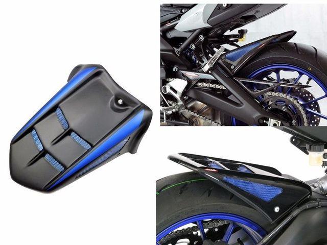 For Yamaha MT FZ FJ FM 09 MT09 FZ09 FM09 Tracer XSR 900  Motorcycle Frame Tail Rear Mudguard Hugger Fender 20-14 15 16 17 18 19